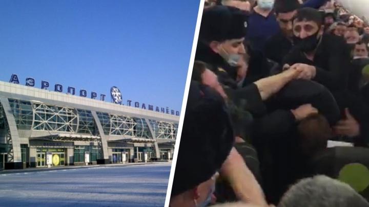 Суд отпустил на свободу новосибирского авиадебошира— у него хорошие характеристики и он живет с родителями