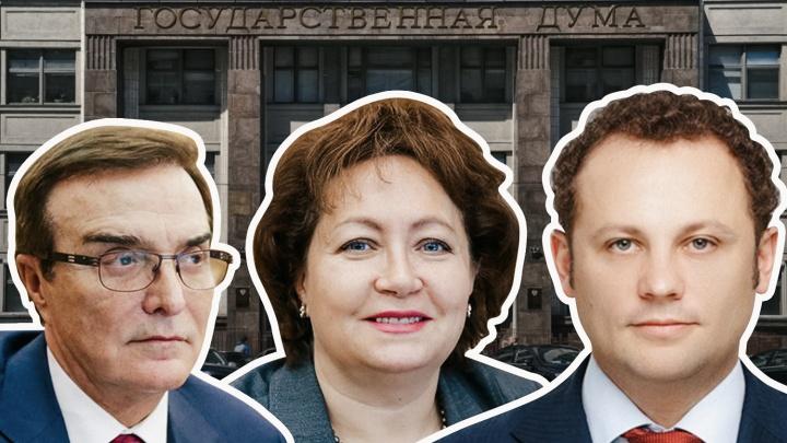 Депутаты Госдумы от Кузбасса отчитались о доходах. Изучаем, сколько миллионов они заработали
