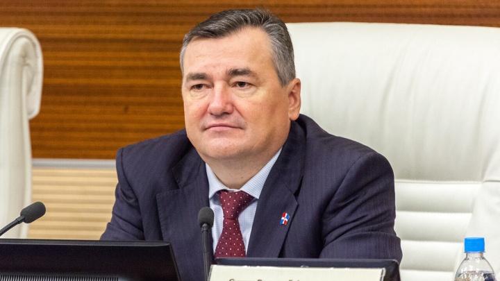 Валерий Сухих рассказал об итогах весенней сессии краевого парламента
