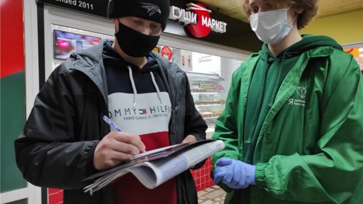 В красноярских ТЦ развернули голосование за присвоение городу нового звания