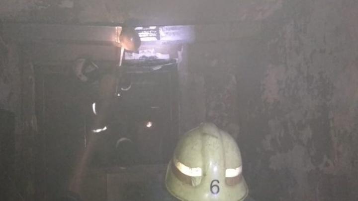 В районной больнице Уфы пожар повредил кабинет компьютерной томографии. Местные сотрудники рассказали об ущербе