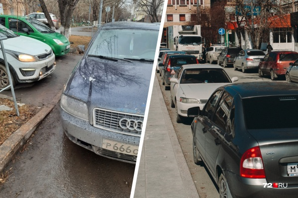 А вас когда-нибудь запирали на парковке?