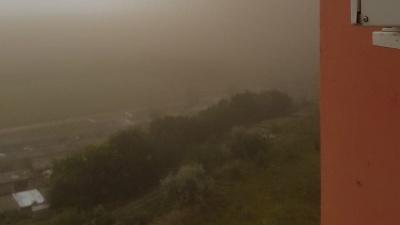 По Самарской области прошла песчаная буря