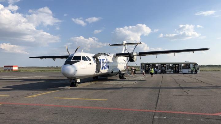 В Волгограде задерживаются два авиарейса на российские курорты