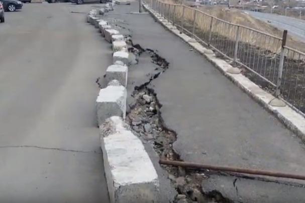 В Красноярске выделяют 34,4миллиона для укрепления опасного склона вСтудгородке