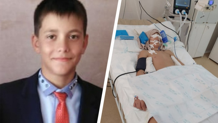 «Ефим, вставай!» В Башкирии мальчик, который упал на турнире по борьбе, уже месяц находится в коме