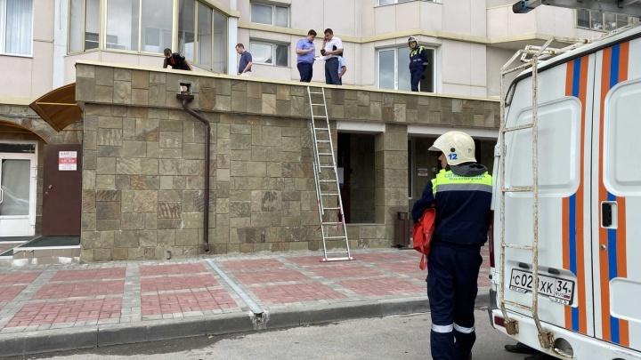В центре Волгограда из окна элитного 21-этажного дома выпала женщина