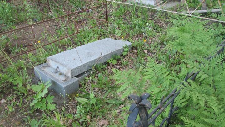 Вырвали кресты: на самарском кладбище осквернили более 40 могил