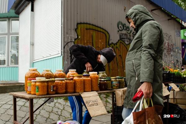 Бойко идет торговля у «Диеты»