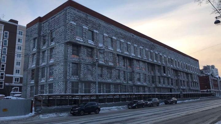 Прокуратура проверила ход строительства новой поликлиники в центре Перми и нашла нарушения