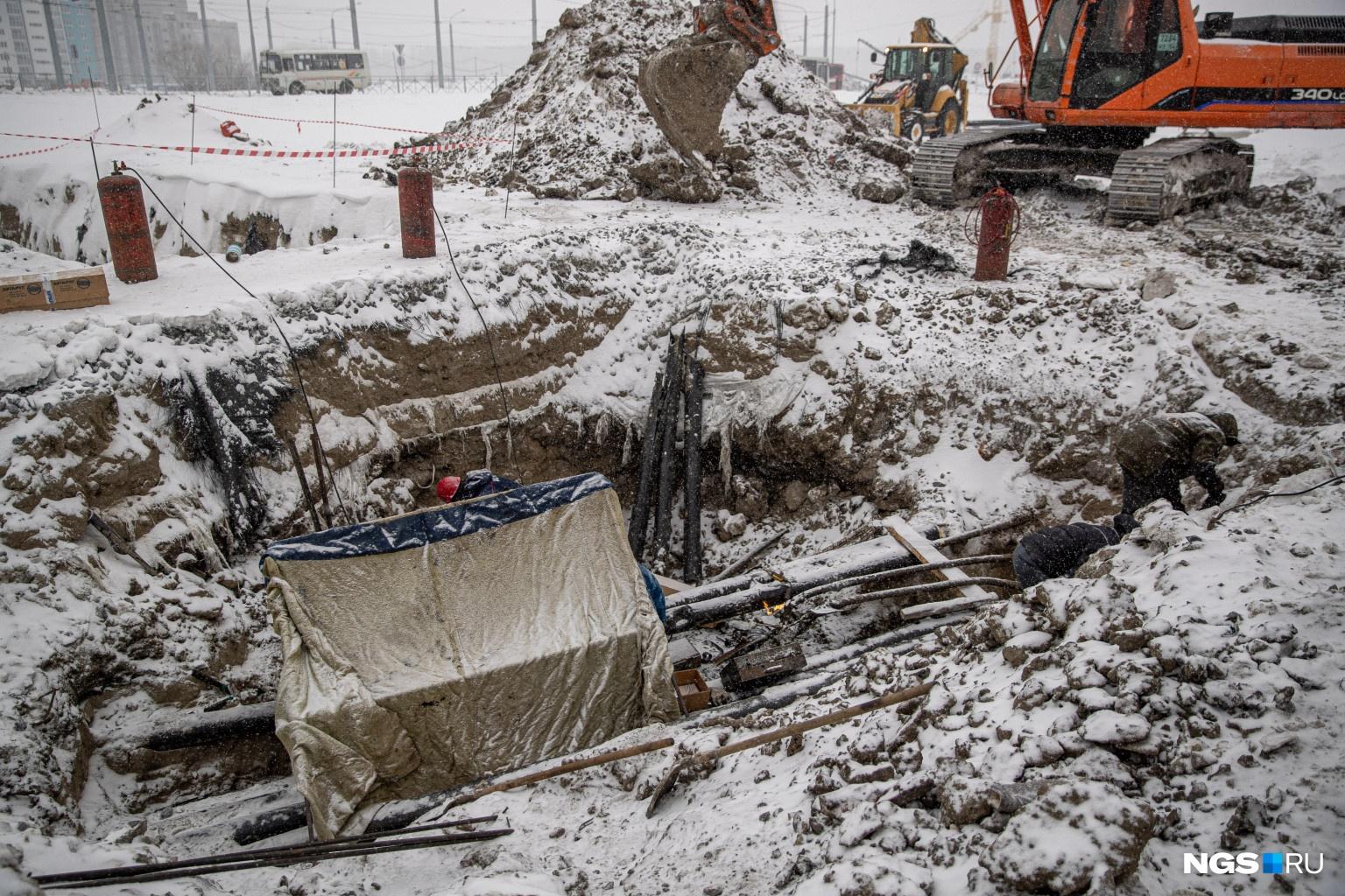 Энергетики утверждают, что прокол грунта был с ними не согласован