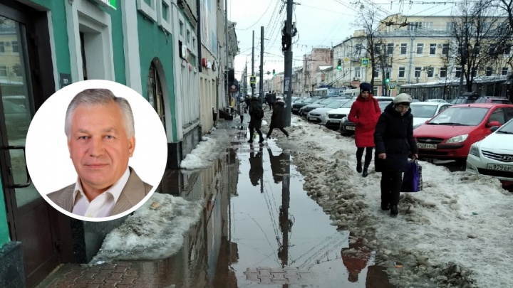 «Какие надолбы!»: экс-мэр разнес нынешнее руководство Ярославля за уборку города