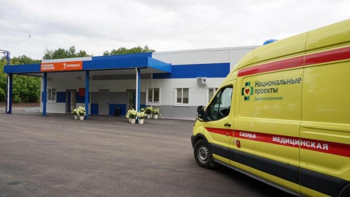 В больнице Середавина открыли новый корпус COVID-госпиталя