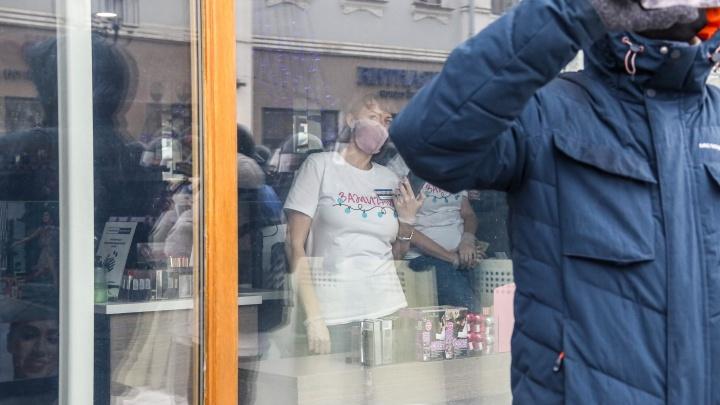 Протест без кофе и матрешек: как работали магазины и кафе на Большой Покровской в день митинга