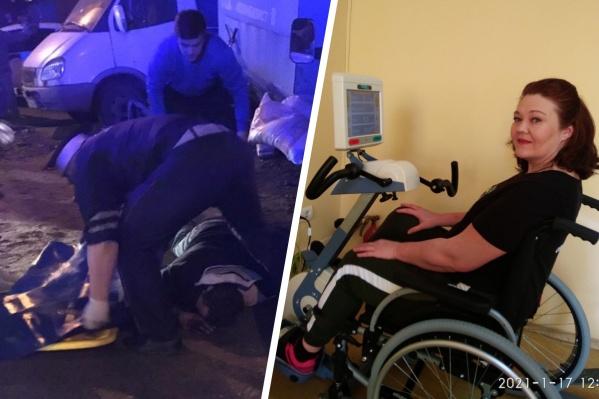 Ольга набралась мужества и написала водителю, который сбил ее и дочку, сидя пьяным за рулем