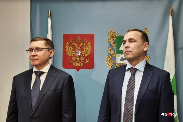 Владимир Якушев остался доволен темпами развития Зауралья