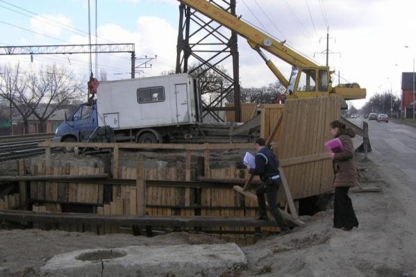 """Строительство части разрушенного коллектора <nobr class=""""_"""">№ 68</nobr> будет проходить в Ворошиловском районе Ростова"""