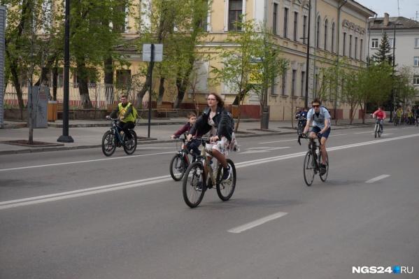 """Иногда проспект Мира перекрывают для <nobr class=""""_"""">мероприятий —</nobr> велопробега или Дня города"""
