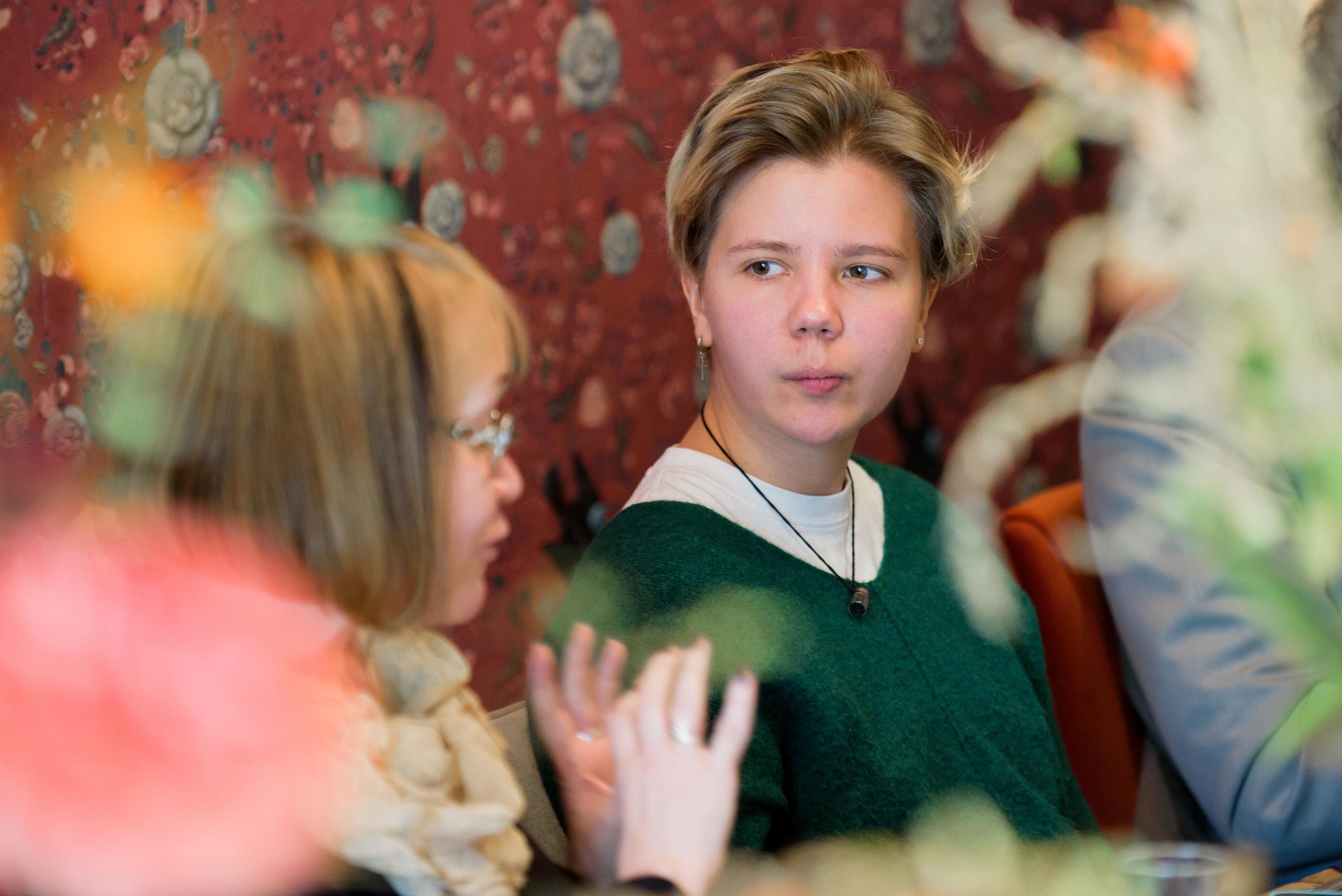 Елизавета Коваленко, участница проектов «Простые вещи» и «Огурцы»