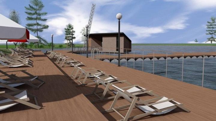 В Норильске в этом году решено обустроить первый пляж и место для купания