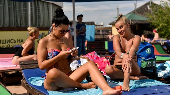Доставайте купальники. В Екатеринбурге потеплеет до +33 градусов