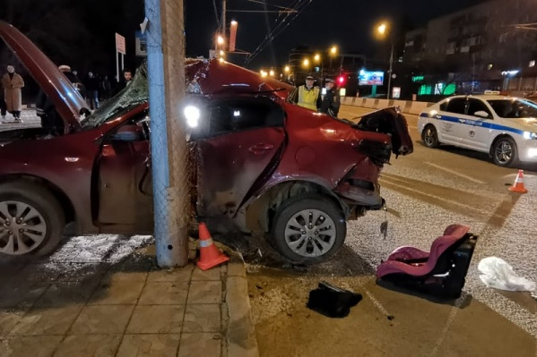 Трагедия произошла поздно ночью на Красном проспекте
