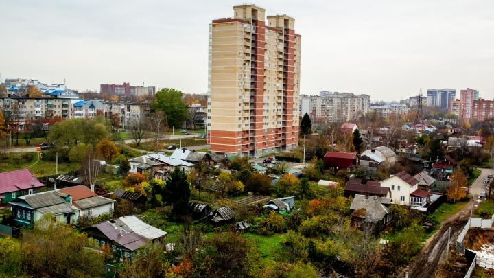 Власти отказали жителям Суздалки, попросившим не строить высотки рядом с частным сектором