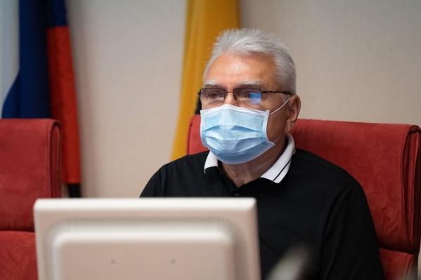Николай Александрычев попал в больницу