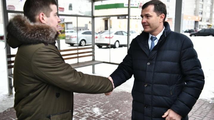 Мэр поблагодарил ярославца, разрулившего транспортный коллапс. Он в ответ попросил решить одну проблему