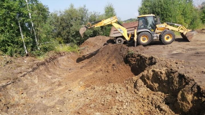 В Боготоле началось строительство новых канализационно-очистных сооружений ЦРКК