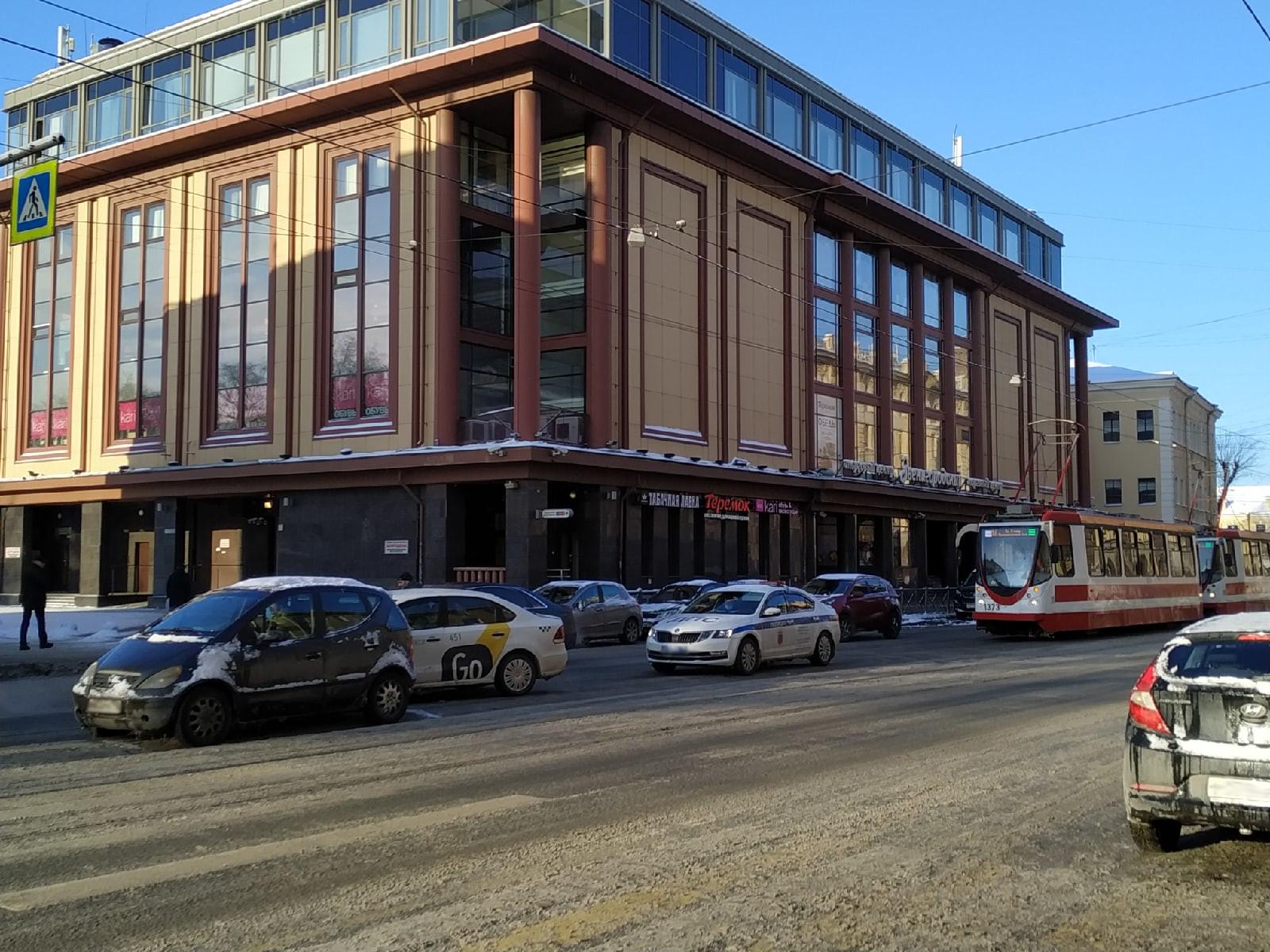 ДТПна Звенигородской улице