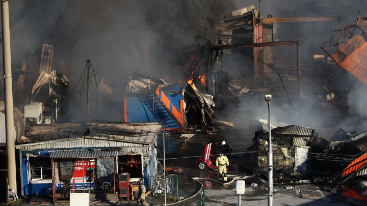 В Новосибирске задержали инженера автозаправки, на которой произошел пожар