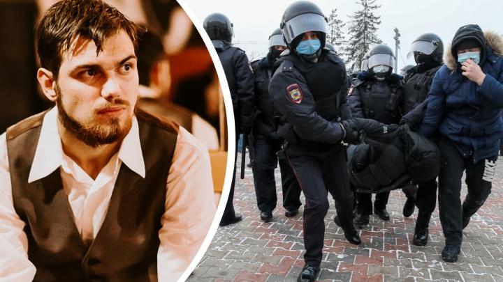 Красноярского активиста задержали в Москве — его пытаются привлечь как организатора митинга