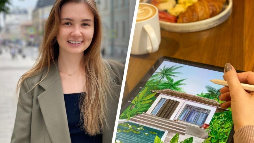 300 тысяч рублей на иллюстрациях: дизайнер из Екатеринбурга превратила творчество в прибыльный бизнес