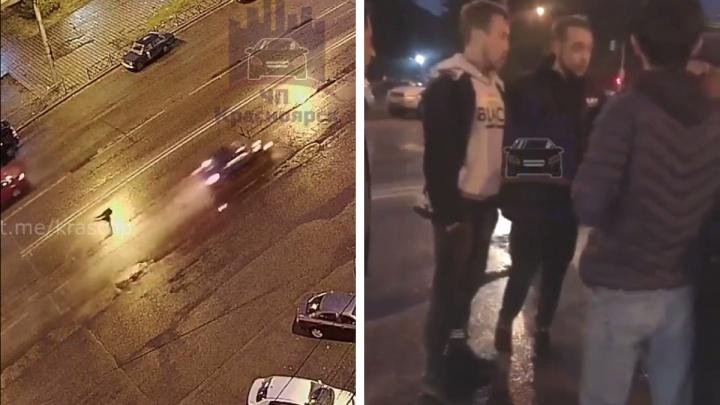 «Я сбил, я понимаю!»: красноярцы сняли на видео пьяного водителя, сбившего пешехода насмерть