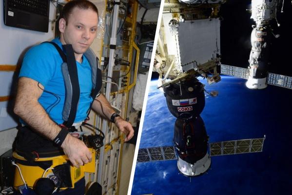 """Иван Вагнер провел <nobr class=""""_"""">195 дней</nobr> в <nobr class=""""_"""">космосе —</nobr> он вернулся в октябре <nobr class=""""_"""">2020-го</nobr><br>"""