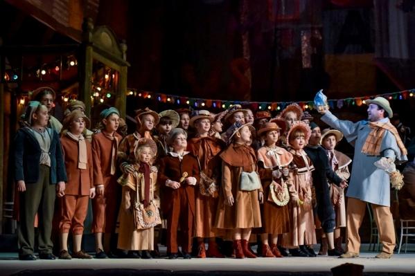 Оперный театр отремонтируют к приезду артистов из Большого