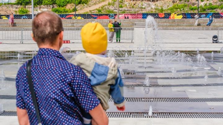 Пермские фонтаны готовятся запустить в начале мая