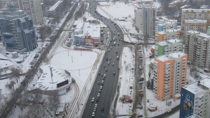 Губернатор рассказал, как будут делать развязку на Ново-Садовой