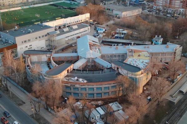 Памятник архитектуры восстанавливают уже несколько лет