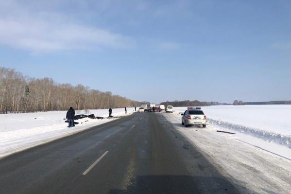 49-летний водитель «Камри» погиб на месте