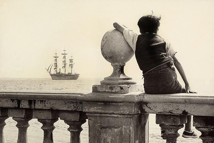 Микеле Вестрини. Мечтая о корсарах, терраса Масканьи, Ливорно, 1958, Архив Алинари / архив Лейсса