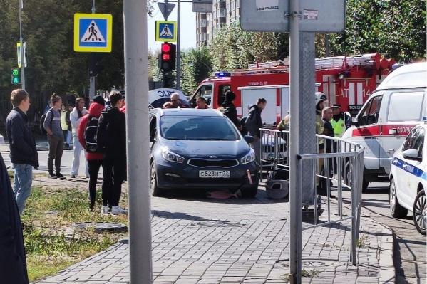 С места аварии в Сети появились жуткие кадры