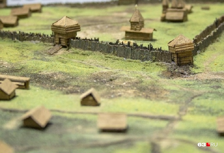 Макет крепости «Самарский городок»