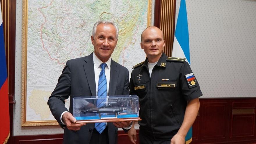 Призывники из Башкирии смогут пройти военную службу на подводной лодке «Уфа»