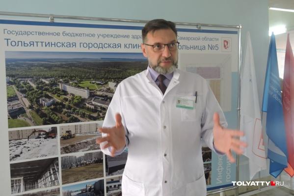 Алексей Николаевич работает в Медгородке 25 лет и знает всю «кухню» самой большой больницы города изнутри