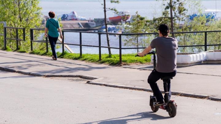 «Идешь и боишься»: читатели 29.RU спорят, безопасны ли электросамокаты для пешеходов и водителей