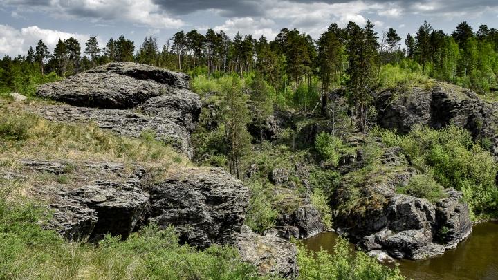 Пробник большого Урала: как увидеть горные кряжи и лазурную воду в пяти километрах от Челябинска