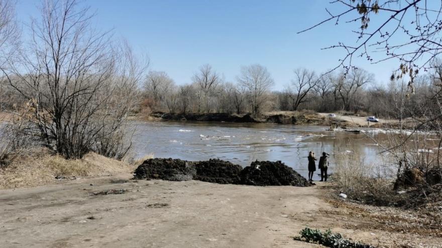 В Кинельском районе автомобильный мост ушел под воду