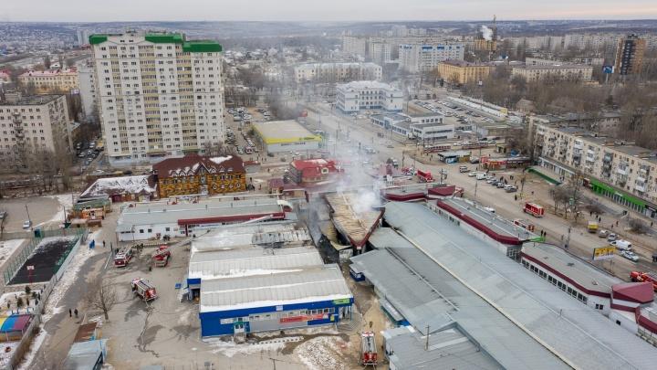 Расследование пожара на Качинском рынке Волгограда снова передали в прокуратуру